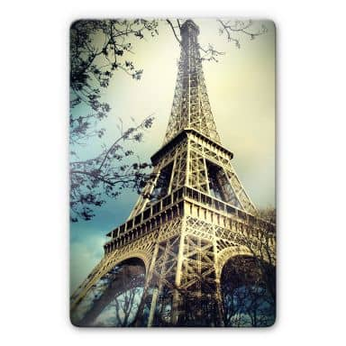 Paris Eiffeltower Glass art