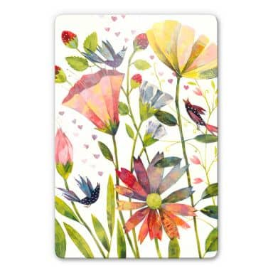 Glass Print Blanz - Wild Summer Meadow