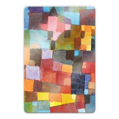 Klee - Room Architectures Glass art