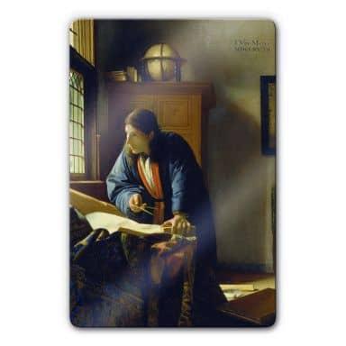 Tableau en verre - Vermeer - Le Géographe