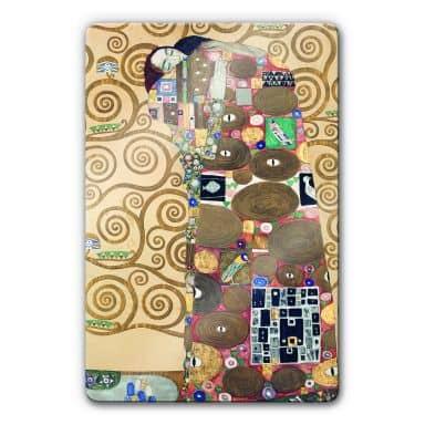 Klimt - Fulfillment Glass art