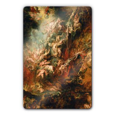 Rubens - The Fall of the Damned Glass art