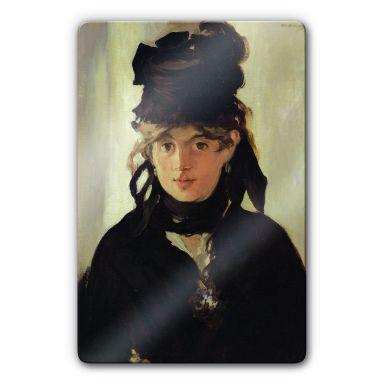Glasbild Manet - Berthe Morisot
