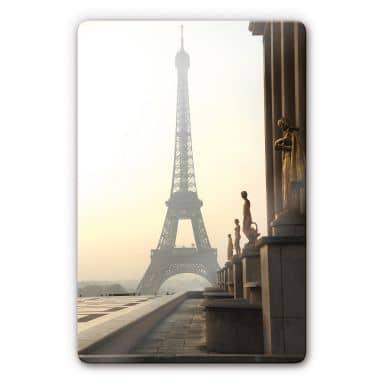 Tableau en verre - Bonjour Paris