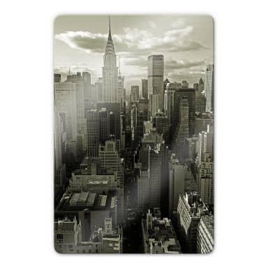 Glasbild Manhattan 2