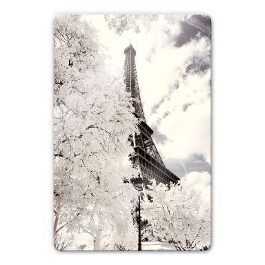 Glasbild Hugonnard - White Paris