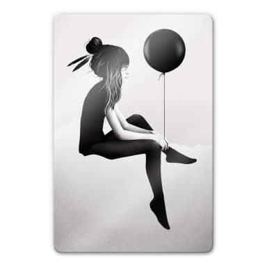Glasbild Ireland - No such thing as nothing - Luftballon