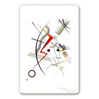 Glasbild  Kandinsky - Jahresgabe für die Kandinsky Gesellschaft