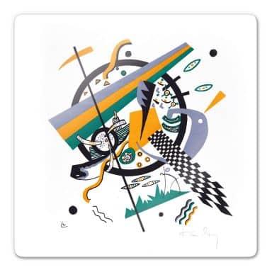 Glasbild Kandinsky - Kleine Welten 4