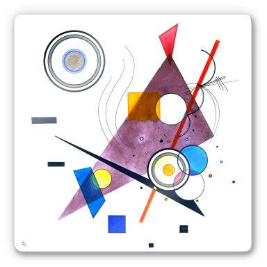 Glasbild  Kandinsky - Komposition II