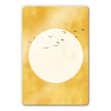 Glass Print Kubistika - Sunshine