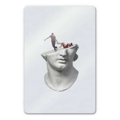 Glasbild Léon - Get out of my head