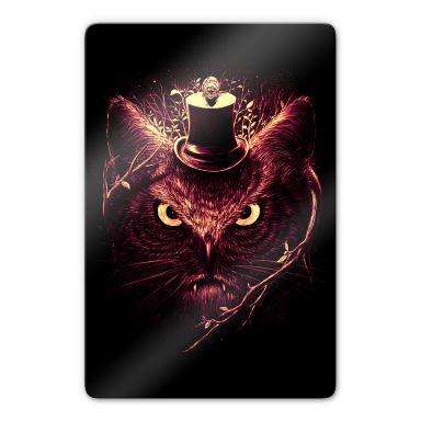 Glasbild Nicebleed - Meowl