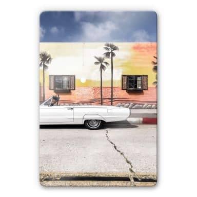 Glasbild Ochlich - Miami Vibe