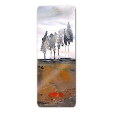 Niksic - Tree Avenue Glass art - Panorama