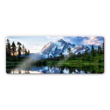 Glasschilderij Papp - Mountain Wilderness