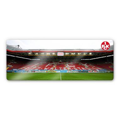 Glasbild 1. FC Kaiserslautern Stadion Tribüne - Panorama