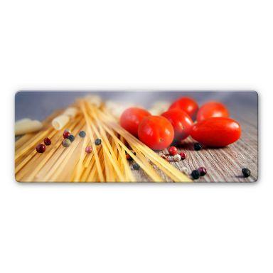 Glasbild Spaghetti alla mamma