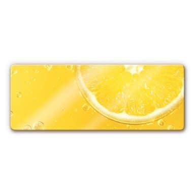 Glasbild Lemon Squeezy - Panorama
