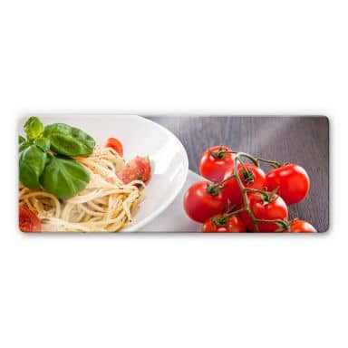 Pasta Italiana Glass art - Panorama