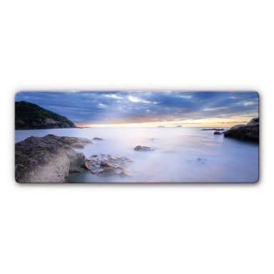 Bay Glass art - panorama