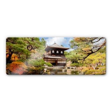 Japanese Temple Glass art - panorama