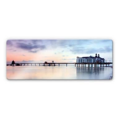 Sellin Pier Glass art - panorama