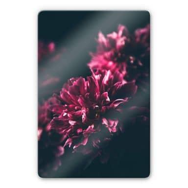 Glasbild Pink Flower Dream 01