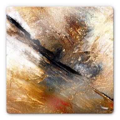 Glasbild Niksic - Jeder Stein hat seine Geschichte