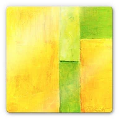 Glasbild Schüßler - Spring Composition III