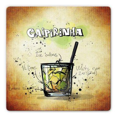 Glasbild Caipirinha - Rezept