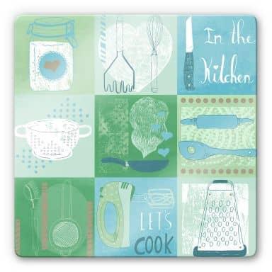 Glass Print Loske - In the Kitchen