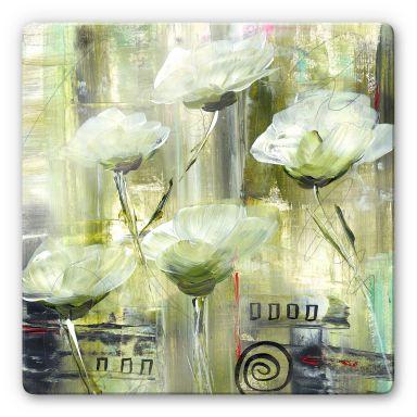 Glasbild Niksic - Ambiente Florale