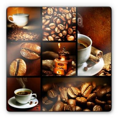 Tableau en verre - Enjoy Coffee