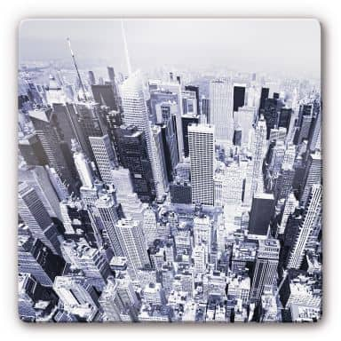 Glasbilder Von New York Wall Art De