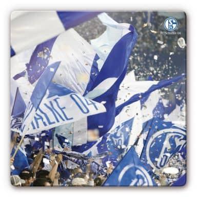 Tableau en verre - FC Schalke 04 - Émotions