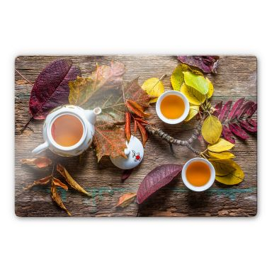Glasbild Aristov - Tea of September