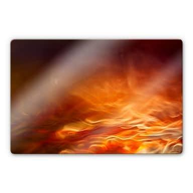 Glasschilderij Marthinussen - Burning Water