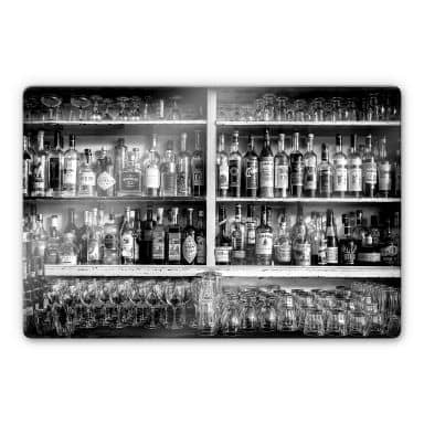 Glasbild Klein - The Classic Bar