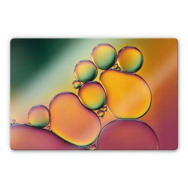 Glasbild Westum - Bubbles