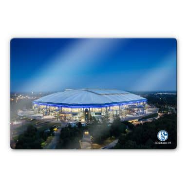 Glasbild Schalke Arena 02