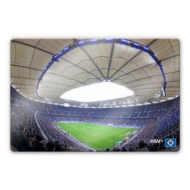 Glasbild HSV Arena