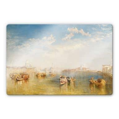 Glasbild Turner - Giudecca, La Donna Della Saluteund San Giorgio