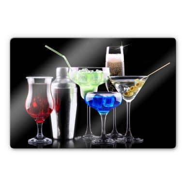 Glasbild Girly Cocktails