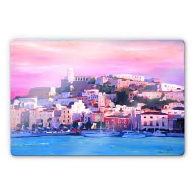 Glasbild Bleichner - Ibiza-The Pearl of the Mediterranean