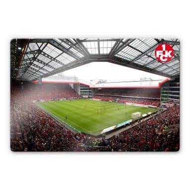 Glasbild 1. FC Kaiserslautern - Stadion Innenansicht