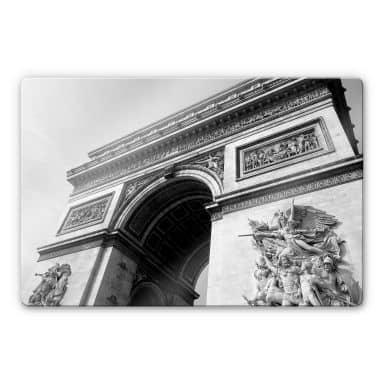 Glasbild Arc de Triomphe