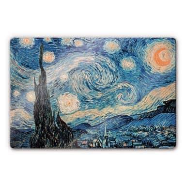 van Gogh - Starry Night 1889 Glass art