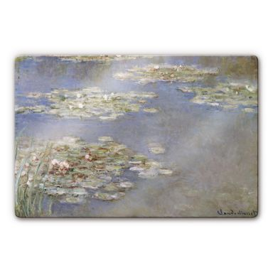 Monet - Water Lillies 1905 Glass art