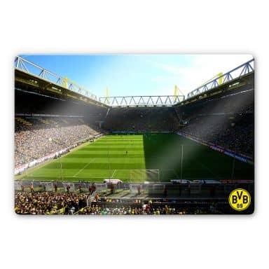 Glass Print BVB Signal Iduna Park Match Day